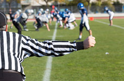 Football referee Royalty Free Stock Photo