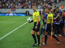 Football referee, Daniele Orsato Stock Photography