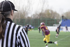 Football referee Royalty Free Stock Image