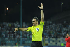 Football referee Royalty Free Stock Images
