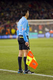 Football referee Stock Images