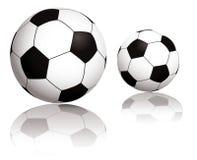Football reflect Stock Photos