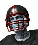 Football Robot Portrait Royalty Free Stock Images
