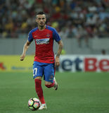 Football  Romania's Liga 1– Steaua Bucuresti vs. Astra Giurgiu. Steaua Bucharest's Ricardo Boldrin in action  during a soccer match Steaua Bucharest vs Stock Photography