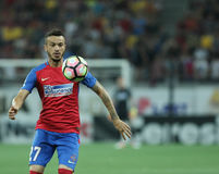 Football  Romania's Liga 1– Steaua Bucuresti vs. Astra Giurgiu. Steaua Bucharest's Ricardo Boldrin in action  during a soccer match Steaua Bucharest vs Stock Images