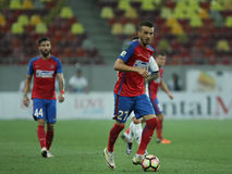 Football  Romania's Liga 1– Steaua Bucuresti vs. Astra Giurgiu. Steaua Bucharest's Ricardo Boldrin ( R ) in action  during a soccer match Steaua Bucharest vs Stock Images