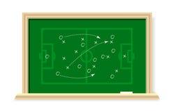 Football Scheme, vector Royalty Free Stock Photo