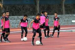 Football school Royalty Free Stock Image