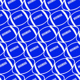 Football seamless pattern. Stock Image