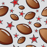 Football seamless pattern  Stock Photos