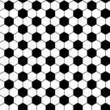 Football seamless pattern Royalty Free Stock Image