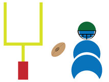 Football season Royalty Free Stock Photos