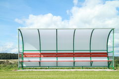 Football seat royalty free stock images