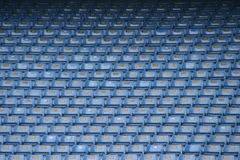 Football seats 4 Stock Photos