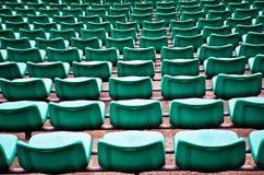 Football seats. Royalty Free Stock Photos