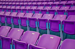 Football seats. Royalty Free Stock Images