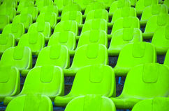 Football seats. Stock Images