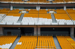 Football seats Royalty Free Stock Images