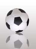 Football and shadow. Game football and shadow element Royalty Free Stock Photography