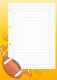 Football sheet Stock Photo