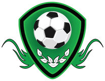 Football Shield. Stock Image