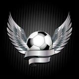 Football shield Stock Image