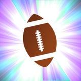 Football Shiny Background stock illustration