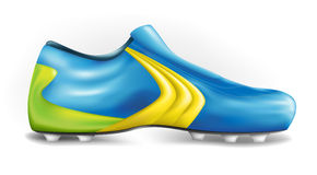Football shoe Royalty Free Stock Image