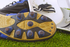 Football shoes Stock Image
