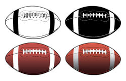 Football-Simple to Complex Royalty Free Stock Photo
