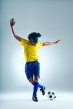 Football skills Stock Photography