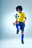 Football skills Stock Photography