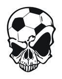 Football skull Royalty Free Stock Photography