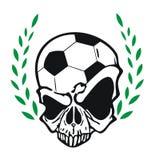 Football skull Stock Photography