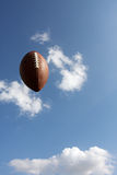 Football in the sky Stock Image