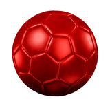 Football soccer 3d rendering. Royalty Free Stock Image