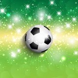 Football / soccer background Stock Photo