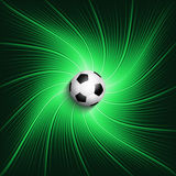 Football / soccer background Royalty Free Stock Photo