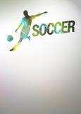 Football or soccer background Stock Photos