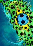 Football or soccer background Stock Image