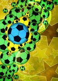 Football or soccer background Stock Images