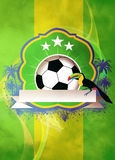 Football or soccer background Royalty Free Stock Image