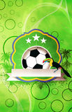Football or soccer background Royalty Free Stock Images