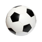 Football soccer ball. Isolated on white Royalty Free Stock Images