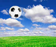 Football soccer ball Royalty Free Stock Images