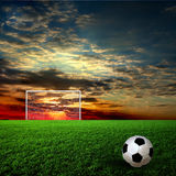 Football, soccer ball Royalty Free Stock Photo