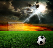 Football, soccer ball Stock Image