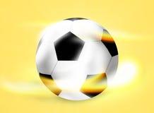 Football Soccer Ball Creative Ball Light Design Stock Photos