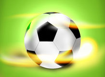 Football Soccer Ball Creative Ball Light Design Stock Photography