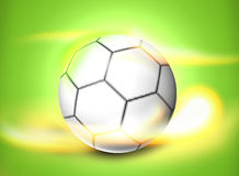 Football Soccer Ball Creative Ball Light Design Royalty Free Stock Photos